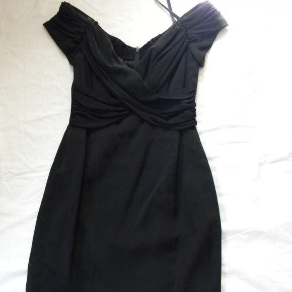 Nicole Miller Dresses Black Cocktail Dress Fully Lined 8 Poshmark